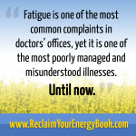 text describing how fatigue is a misunderstood illness