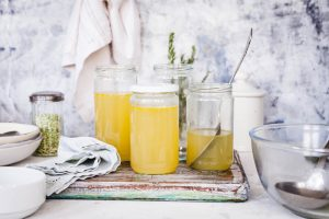 Recipe for how to make bone broth in five minutes
