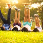 Kids enjoy sunshine to get vitamin D in Guelph