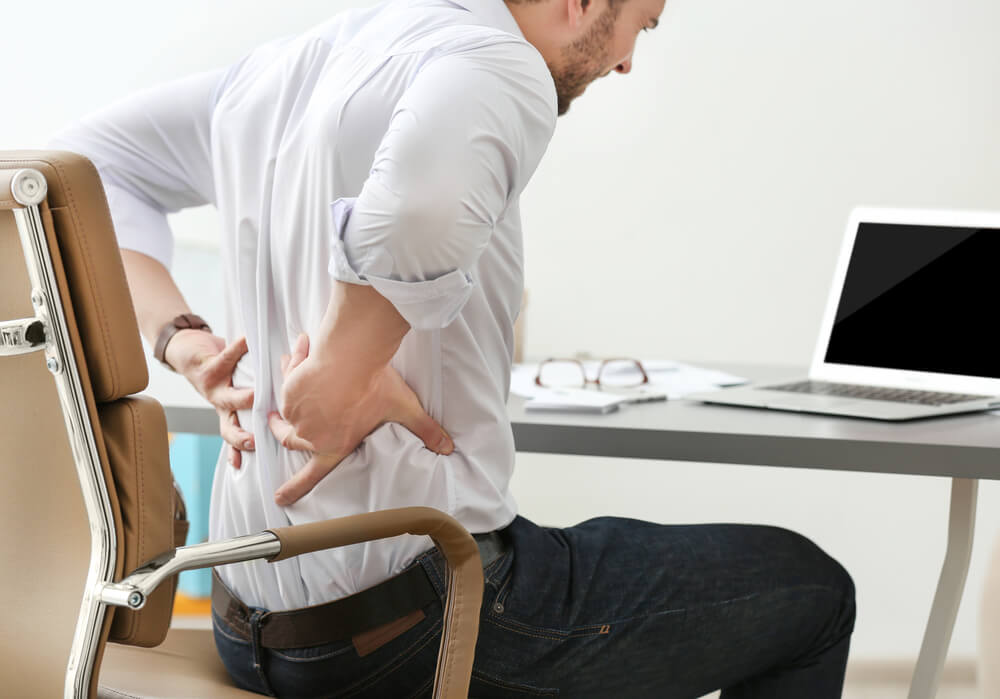 Gluteal muscles are turned off when sitting