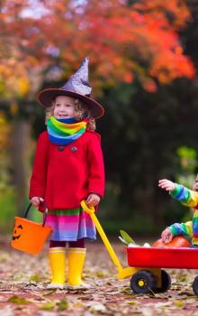 Healthy Options for Hallowe'en