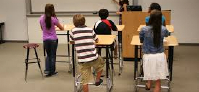 Cure childhood obesity: STANDING WORKSTATIONS and banning junk food